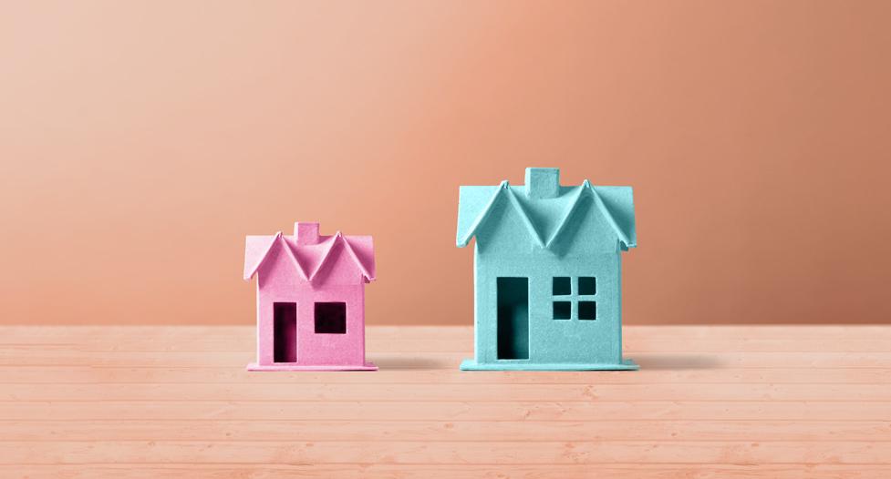 Familie Umzug Eigentumswohnung Haus
