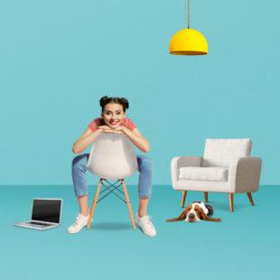 BBBank Hausratversicherung Vertrag online Möbel Laptop Hund