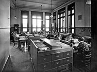 Genossenschaftsbank Hollerith-Lochkarten-System 1936