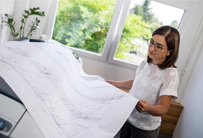 Plan Wegbereiter Vielfalt öffentlicher Dienst Straßenbau-Expertin