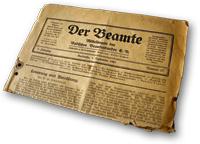 Zeitschrift Der Beamte 1921